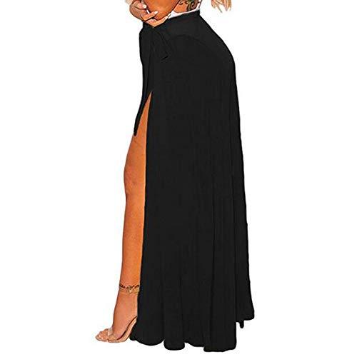 2019 Fashion Womens Dress,Evansamp Dinosaur Printed High Wasit V-Neck Pachwork Backless Sleeveless Swing Dress