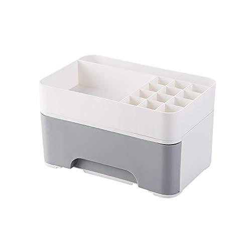 JSY Caja de almacenamiento para cosméticos de escritorio de tipo cajón pequeño multifuncional para el cuidado de la piel, caja cosmética (color: B)