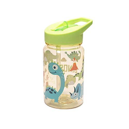 TRITAN i biberon per bambini borraccia bottiglia 450 ML (DINOSAURI)