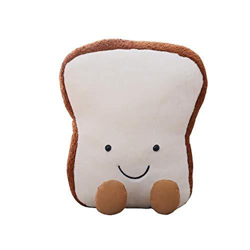 Kreative Cartoon Brot Toast Kissen Fun Food Plüschtier Puppe Vivid Home Decor (Medium)