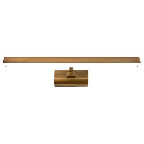 William 337 Spiegel koplamp in Amerikaanse stijl coating imitatie koper LED badkamer lampen Moderne minimalistische badkamer wandlampen [energieklasse A +]