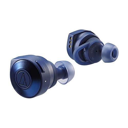 Audio-Technica ATH-CKS5TWBL Solid Bass Wireless in-Ear Headphones, Blue