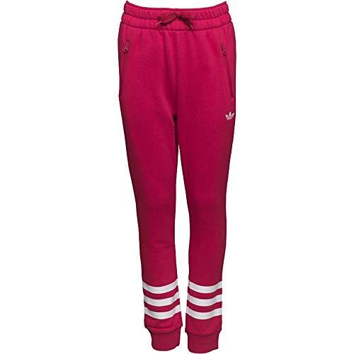 adidas J FT Pants G - broek - meisjes, roze, 128.