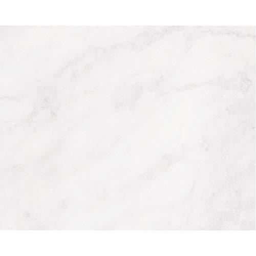 PrintYourHome Fliesenaufkleber für Küche und Bad | Dekor Marmor Weiß | Fliesenfolie für 20x25cm Fliesen | 4 Stück | Klebefliesen günstig in 1A Qualität