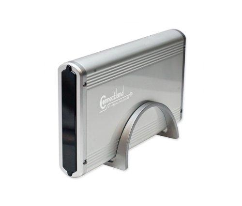 """Connectland BE-USB2-UB4A Boîtier externe USB pour Disque dur SATA/IDE 3,5"""""""