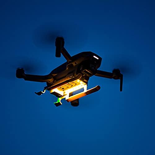 Zusammenklappbares Landegerät mit LED-Licht Kompatibel für DJI Mavic Mini 2 / Mavic Mini Drohne Zubehör