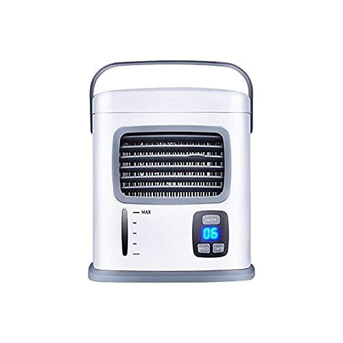 Ventilatore di refrigerazione e umidificazione dell'aria USB, Mini ventola dell'aria condizionata per il raffreddamento, piccola ventola USB per l'umidificazione e raffreddamento dell'aria