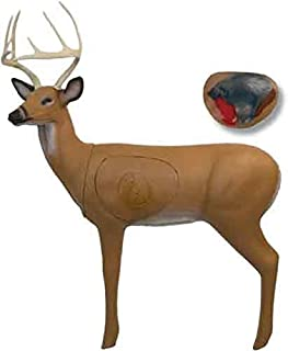 BIGSHOT Pro Hunter Buck Target with Additional Broadhead Vital Included- for Compound, Crossbow, Youth Bows, Traditional Bows