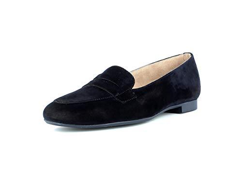 Paul Green Damen SlipperMokassins 2389, Frauen Slipper, College Loafer businessschuh weibliche Lady Ladies feminin elegant Women,BLAU,39 EU / 6 UK