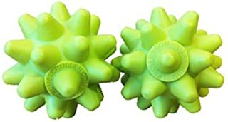 RumbleRoller X-Firm Beastie Ball x2 - 2 Extra Firm Massage Roller Balls - Spiky Massage Ball Excellent for Working on Troublesome Muscles