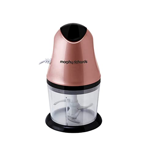 Morphy Richards 300W Electric Chopper, Rose Gold
