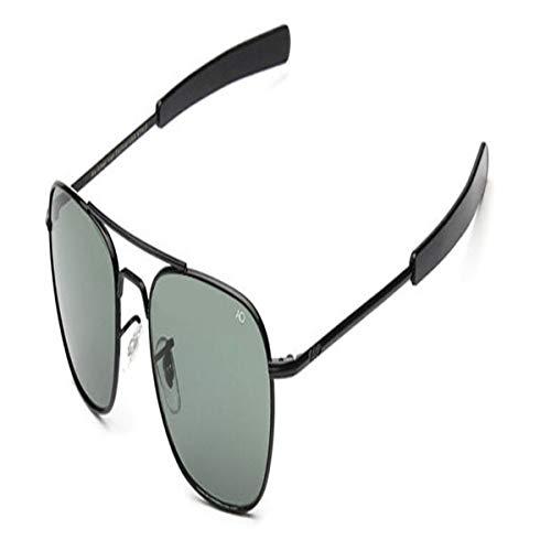 Gafas de sol deportivas, gafas de sol vintage, Fashion Aviation Sunglasses Men AO Sun Glasses For Male American Army Military Optical Glass Lens Oculos C6