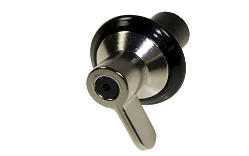 MANETTE GAZ INOX RETRO POUR TABLE DE CUISSON SMEG - 694975409