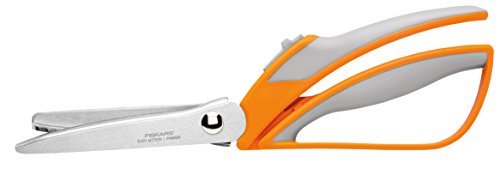 Fiskars Easy Action Pinking Shears, 10.5 Inch (191000-1001)