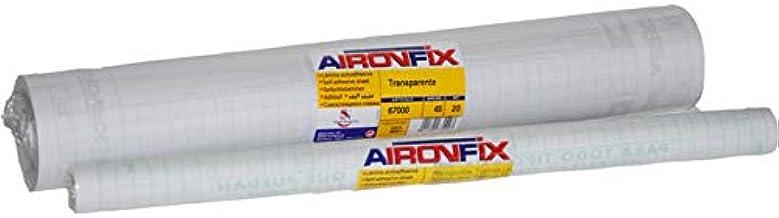 AIRONFIX Transparente brillo 45 CM X 20 M (forralibros): Amazon.es: Oficina y papelería