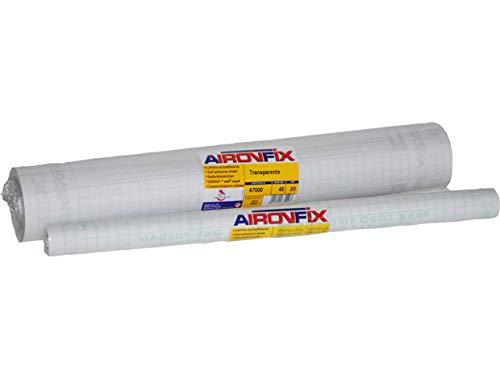AIRONFIX Removible Transparente brillo 45 CM X 20 M (Forralibros)