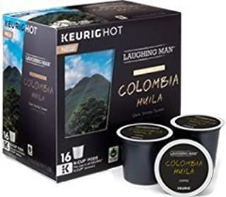 Laughing Man Colombia Huila Coffee Keurig K-Cups, 16 Count by Laughing Man