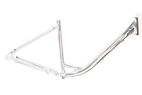 28 Zoll Alu Damen Fahrrad Rahmen City Bike Naben Schaltung Rücktritt RH 46 roh