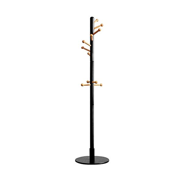 Vlush Sturdy Coat Rack Stand, 11 Hooks Free Standing Coat Hat Tree Coat Hanger Stand...