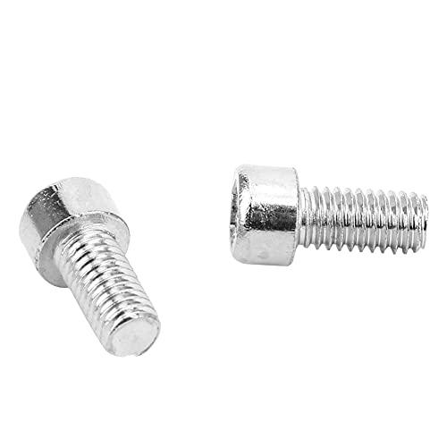 M6 Hex Socket Bolt 50Pcs Universal Socket Head Perfiles de herramientas de acero inoxidable(M6*12)