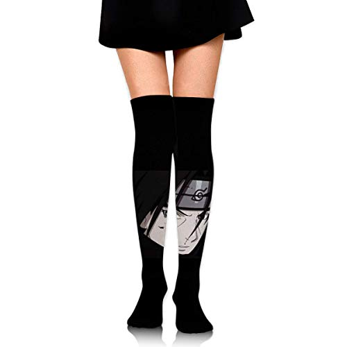 v-kook-v Frauen Oberschenkel hohe Socken Compression Beinwärmer Naruto Boot Stocking Extra lange Sport Tube Socken