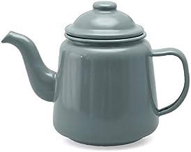 Falcon Enamelware Tea Pot Tea Pot 1.5L, Grey, FE3642GY