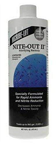 Microbe-Lift NiteOutII for Home Aquariums, 16-Ounce (Packaging may vary)