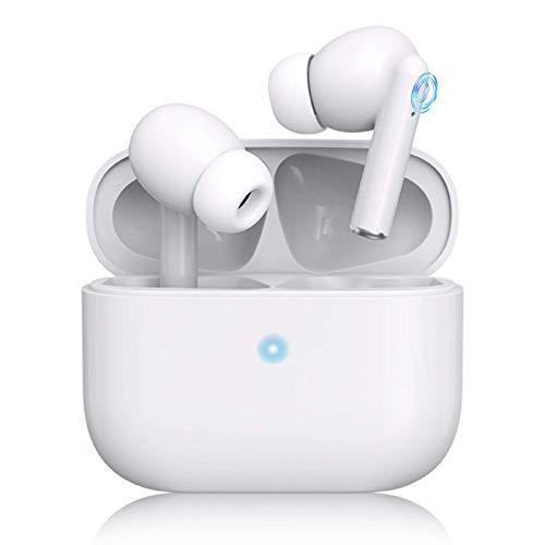 Auriculares Bluetooth,Auriculares con reducción de Ruido Activa, IPX6 Impermeable30 Horas de duración de la batería,estéreo 3D y micrófono de Alta definición,adecuados para iPhone Air- Pro/Android