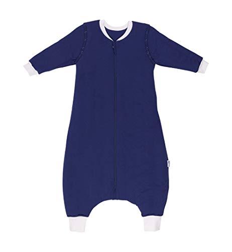 Slumbersac Premium Sacco a pelo con gambe e maniche lunghe per l'inverno in 3.5 Tog - Azzurro - 110 cm