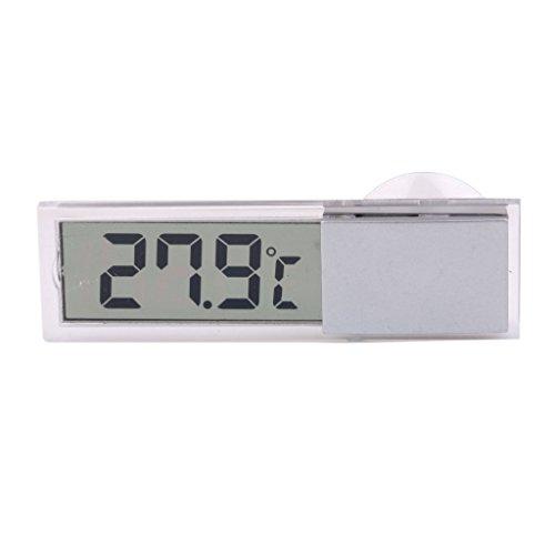 Thermometer - TOOGOO(R) Auto LKW LCD Digital Temperaturfuehler in- / Aussenthermometer Saugnapf