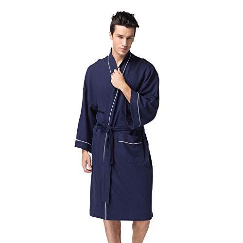WoWer Bademantel Damen Unisex-BademäNtel/Robe Coral Fleece-BademäNtel Damen- Und Herren-Pyjamas Aus SüßEr Wolle, Schnell Einziehend Und Winterwarm
