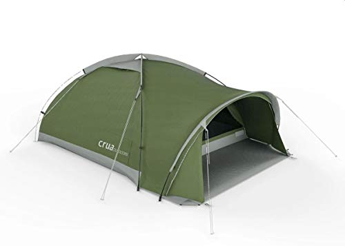 Crua Duo Maxx | 3 Person All Weather Insulated Breathable Family Camping Tent | Weatherproof, Warmth & Cooling Insulation | Winter/Snow/Rain & Summer/Heat, Glamping, Hunting, Camping, Hiking