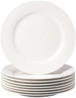 Thomson Pottery Basic White 8 PC Salad Plates