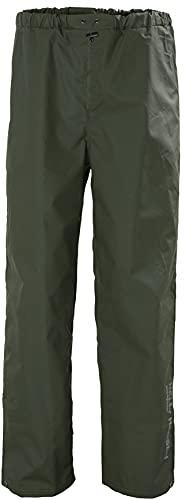 Helly-Hansen Workwear Men s Mandal Rain Pant, Army Green, Medium