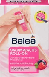 Balea Warmwachs Roll-on, 1 x 120 ml