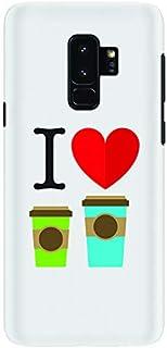 Stylizedd Samsung Galaxy S9 Plus Slim Snap Case Cover Matte Finish - I Love Coffee