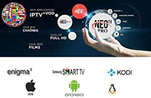 Neo Tv Pro IPTV - Subscripción para 12 months compatible with most Devices &Systems: Amazon.es: Instrumentos musicales