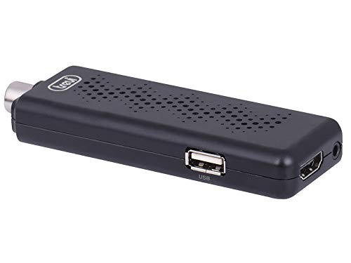 Trevi HE 3361 T2 Mini Decoder Digitale Terrestre HD DVBT-T2 HEVC con Codec H.265 10 Bit, HDMI, Uscita Audio/Video, Dimensioni Ridotte, Telecomando