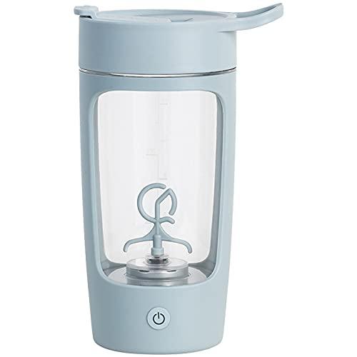 WANZPITS Taza de mezcla eléctrica, taza de mezcla, regalo creativo portátil de la taza del agua, taza de mezcla eléctrica portátil, azul, 650ml