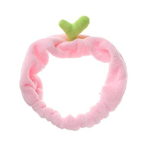 para las mujeres niñas elástico deporte Yoga Bean brouts bandas para el cabello Cactus Headband (rosa-Bean Brouts)