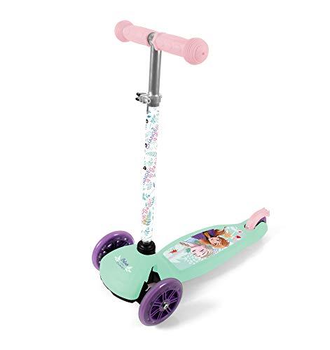 Frozen Kinderroller Kinder Dreirad Roller ABEC 7, PU-Räder Tretroller Kickscooter Scooter Dreiradroller Kinderscooter ab 2 Jahre klappbar