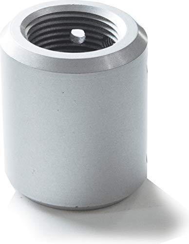 Ceiling Fan Downrod Coupler in Brushed Nickel