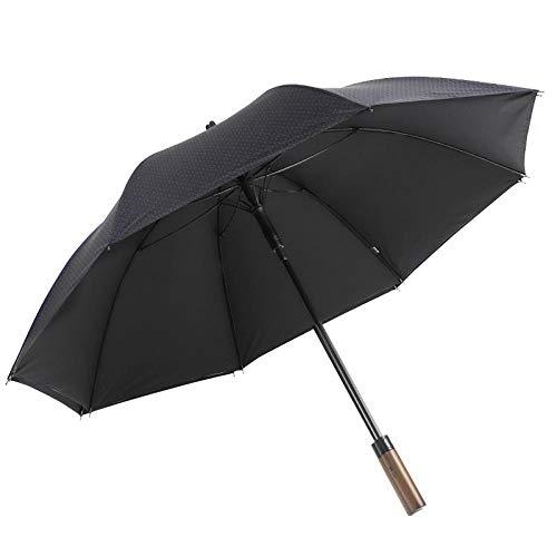 WENSISTAR Omgekeerde Paraplu Winddicht, Lange handgreep rechte paraplu, heren super winddichte paraplu, grote zakelijke paraplu, Draagbare paraplu