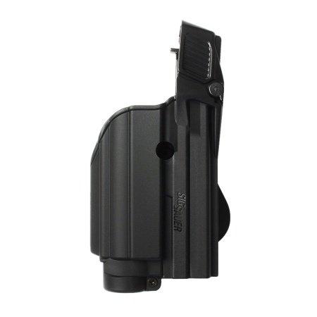 IMI Israel Black Tactical Gun Holster for Tactical Light/Laser Level II for SIG Sauer Sig Pro 2022 (1500)