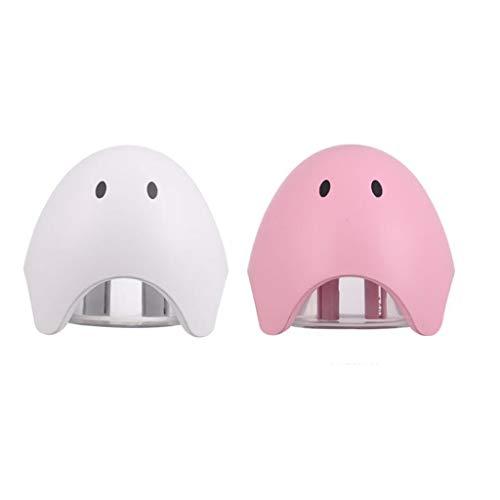 (2 piezas) por ultrasonidos humidificador de vapor frío for el dormitorio - Top humidificadores se llenan de 300 ml del tanque de agua, silencioso, apagado automático, Easy Clean, 12h Aire humidificac