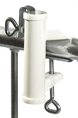 Videx 14212 Sonnenschirmhalter für Handlaufbefestigung weiß