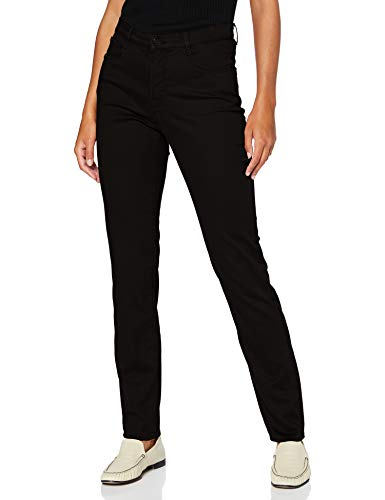 BRAX Damen Style.mary Style Mary Five Pocket Hose in winterlicher Qualit t Slim Fit, Schwarz, 40W 32L EU