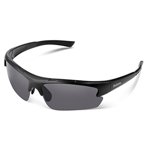 Polarized Designer Fashion Sports Sunglasses for Baseball Cycling...