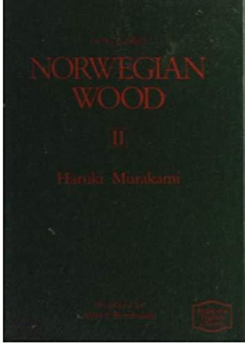 ノルウェイの森 2 (講談社英語文庫 52)の詳細を見る