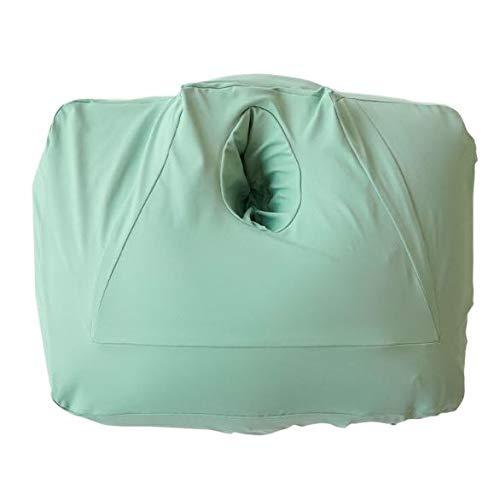 NeOchi Pillow 専用カバー ねおちピロー ねおちぴろー クロスプラス 洗い替え ゲーム スマホ 枕 クッション うつ伏せ スマホクッション ビーズクッション おうち時間 寝落ち ゲーミングピロー ミント